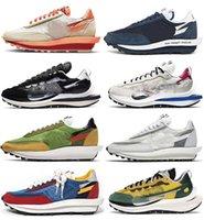 2021 Bırakma Fragmanı SACAIS Ayakkabı Vaporwafle 2.0 Eğitmenler Kurt Gri Mavi Void Clot Ldwaffle LDV Siyah Beyaz Erkek Kadın Açık Spor Sneakers Orijinal Kutusu