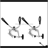 Hastes 2 peças Suporte de vara de pesca 360 graus caiaque caiaque apoio barco suporte para suporte nnnbi hvge5