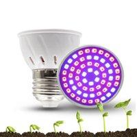 E27 / GU10 / E14 LED Grow luci Lampade pianta 2835SMD Semenzale All'interno della lampada di crescita della verdura Tazza Beneficia per la serra Coltivazione e impianti interni Risparmio energetico