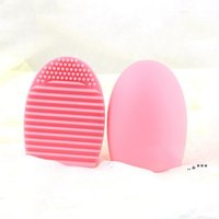 HIGH QUALITY Other Household Sundries Egg Cleaning Glove MakeUp Washing Brush Scrubber Board Cosmetic Brushegg Clean tool EWA4821