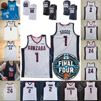 2021 Final 4 4 Gonzaga Bulldogs Basketball Jersey NCAA College Jalen Suggs Stockton Corey Kispert Drew Timme Anton Watson Andrew Nembhard Pavel