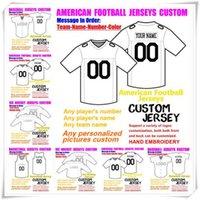 Таможенные марки американского футбола для человека Wanmen Молодежные дети детские бейсбол хоккей в баскетбол цвет баскетбол футбол джерси наборы 4xL 5XL 6xL