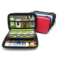 휴대 전화 수리 도구 PSP 게임 콘솔 가방 EVA 모바일 하드 드라이브 파워 팩 U 디스크 방패 데이터 케이블 디지털 액세서리 보관