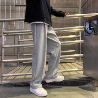 Pantaloni da uomo Straight Harem Sweatpants Maschio Coreano Uomo Coreano Allentato Casual Donna Spring Streetwear CN (Origine) Figura intera Quattro stagioni