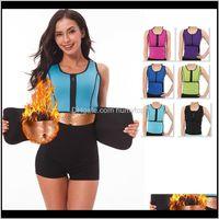 Support Tight Fitting Girdling Bands Leash Waist Trainers Belt Elastic Corset Vest Women Belts Zipper Ventilation Flexible Abdominal C Bnd5A