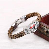 Piratenkönig, Tokyo Ghoul, Final Fantasy Leder Armband, ein Accessoire Geeignet für männliche und weibliche Freunde Charme Armbänder