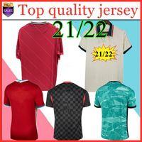 20 21 22 Kids Kit Football Jerseys Maillot 드 발 축구 유니폼 축구 셔츠 2021 2022 홈 멀리 Camiseta de fútbol camisas de futebol