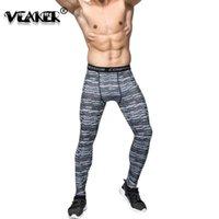 Pantaloni da uomo 2021 Leggings fitness Collant Compression Fast Dry Legging Gyms Maschile Pannelli Slim STUR PANTALONI STUGLI S-3XL
