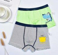 Calzoncillos de dibujos animados niños bragas para niños ropa interior bebé pantalones cortos para bebés niños suaves y cómodos algodón boxeadores para niño