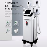 High quality cryolipolysis slimming beauty equipment laser technology 5 handles big power CE FDA approved logo customization