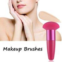 Sponges, Applicators & Cotton Beauty Cosmetic Tool Liquid Smooth Shaped Sponge Powder Puff Foundation Makeup Brushes