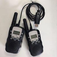T-388 USB зарядки кабеля детей Walkie Talkie T388 детские игрушки аксессуары