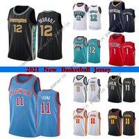 JA 12 Ahlaki Erkekler Basketbol Formaları Yüksek Kalite Zion 1 Williamson 11 Genç Kolej Forması 2021 Açık Giyim Giyim