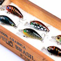 3 unids / set Fishing Lure Bait Crankbait 4.5cm 4g Hard Fishing Lure Tackle Mimic Shrimp Bait Rig Shord Soft Seure con 10 # gancho
