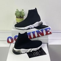 chaussures hommes Balenciaga Balanciaga Balencaga Balancaga spiridon caged Casual runner shoes Metallic Silver Lemon Venom Pistachio speed womens mens trainers sports sneakers