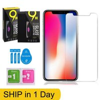 Screen Protector for iPhone 13 12 Mini 11 Pro Max XS XR 6 7 8plus Tempered Glass Protective Film 0.3mm For Samsung LG android phone with Retail Box