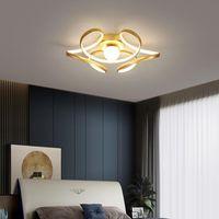 현대 황금 LED 가벼운 식당에 대한 천장 조명 거실 주방 실리카 젤 샹들리에 실내 장식 램프 조명