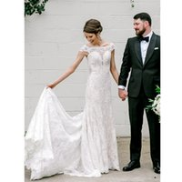 i Straps Mermaid Wedding Dresses