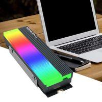 Cm-M7S M2 Ssd Heatsink 5V 3Pin Nvme Ngff M.2 2280 Solid State Drive Hard Disk Cooling Radiator Heat Sink Cooler Vest Thermal Pad Laptop Pads