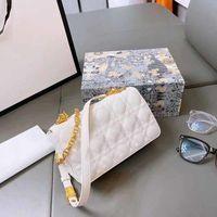 Luxurys 디자이너 악어 패턴 미니 공주 가방 핸드백 어깨 메신저 가죽 체인 작은 사각형 가방 클러치 상자 000