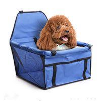 Seyahat Köpek Araba Kapak Kedi Katlanabilir Nefes Güvenli Hamak Pet Taşıyıcı Çanta Kediler Için Taşıma Köpekler Taşıma Koltuk Sepeti