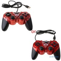 Game Controllers & Joysticks Wired USB Controller For PC Computer Laptop Vibration Joystick 3D Gamepads WinXP Win7 Win8 Win10 97BF