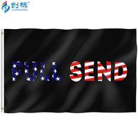 Enviar Full 3 5FT 90 * 150cm Poliéster de impressão digital