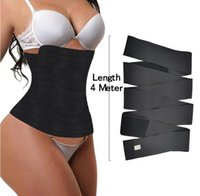 Update VS FeelinGirl Waist Trainer for Women Sauna Trimmer Belt Tummy Wrap 3meter 4meter 5meter 6meter with opp bag 100701