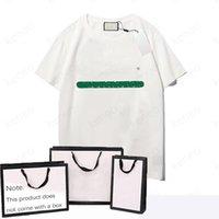 Homens T-shirt Padrão de Carta Verão Casual Tee Moda Ins Estilo Top Streetwear Loose Alta Qualidade Esporte Hip-Hop Mature Estilo Maduro