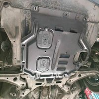 Plaque de protection des moteurs de voiture de manganèse de haute qualité, plaque de dérapage, garde-boue du bas, plaque de protection avec boulons pour Honda Fit 2008-2021