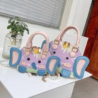 Shoulder Bags Lovely Women's Summer Versatile 2021 Fashion Niche Design Pearl Messenger Bag Chain Crossbody Free Ship