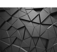 Серые обои 3D стерео геометрические абстрактные серые геометрические обои фона современные обои для гостиной 1451 v2