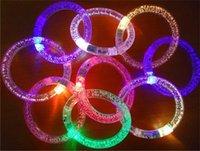 Giocattoli per bambini all'ingrosso LED Braccialetto luminoso Braccialetto luminoso Performance Puntelli Puntelli bolla Flash perline e bolle interattive