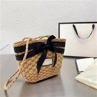 2021 fashion brand bag luxury shoppings bags designer handbag flower design high quality lady shopping free delivery Letter Knitting