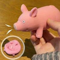 Lala Porco deu um tapinha cão beliscou brinquedo de desejo de descompressão para namorada
