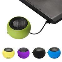 Dizüstü telefon için Mini Taşınabilir Hamburger Hoparlör Tablet PC Mikrofonlar