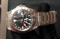 Старинные часы для мужчин смотреть Explorer BP Factory Automation 2813 мужской BPF 1655 дата годовщины 1675 календарь спорт 16570 античный механический 114270 наручные часы