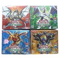 216pcs / Set Yu Gi Oh Oh Anime Jeux de collection de cartes pour garçons Filles Brinquedo x0925