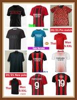 21 22 مراوح لاعب نسخة AC Soccer Milan Balr. الفانيلة 2021 2022 Ibrahimovic Tonali Mandzukic Kessie Kid Kid Kits قمصان تدريب كرة القدم