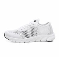 Top Quality Plat Dace-Up Chaussures Authentiques Hommes Femmes Sports de sport hors route Entraîneurs Jogging