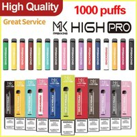 Disposable Vape cigarettes Maskking High Pro 1000puffs pre- f...