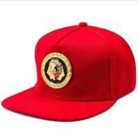 Mısır Firavun Beyzbol Şapkası Hip Hop Punk Tarzı Düz-Ilgili Snapback Şapka Erkekler Kadınlar Serin Erkek Moda Kapaklar Snap781