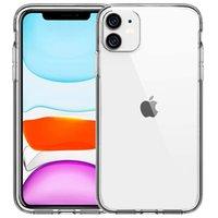 Сверхтонкие чехлы TPU для iPhone 12/11 Pro Max IX / XS / XR 8/7/6 Plus Crystal Clear Soft Phone Case