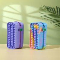 Pop Fidget Toys Push It Bubble Popper Decompression Sensory Stress Relief Toy Simple Dimple Antistress Artifact Handbag Style-TOPN392