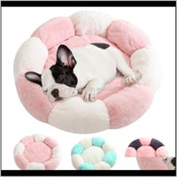 Kennels Pens Supplies Home & Gardensuper Soft Bed Round Washable Short Plush Dog Kennel Cat House Veet Mats Sofa For Chihuahua Basket Pet Bed