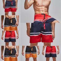 2021Men S- 2XL Plus Size Shorts Beach Shorts Men' s Trunk...