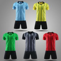 Tracksuit Sport Suit Football Referee Clothes Equipment Team Short Sleeve