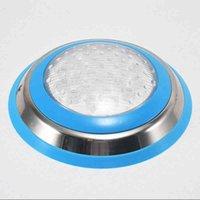 5 قطعة / الوحدة الفولاذ المقاوم للصدأ IP68 الصمام حمام السباحة ضوء 35W 45W الأزرق مصابيح للماء أضواء تحت الماء ac12v rgb piscina lampe