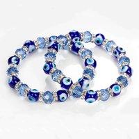 Braccialetto di cristallo del diavolo Elegante Semplice Blu Crystal Blue Crystal Bracelet Bracelet Bracelet Bracelet Bracelet