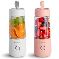 Juicers 350ml Portable Electric Fruit Juicer USB Rechargeable Smoothie Blender Machine Mini Mixer Cup Juicing Kitchen